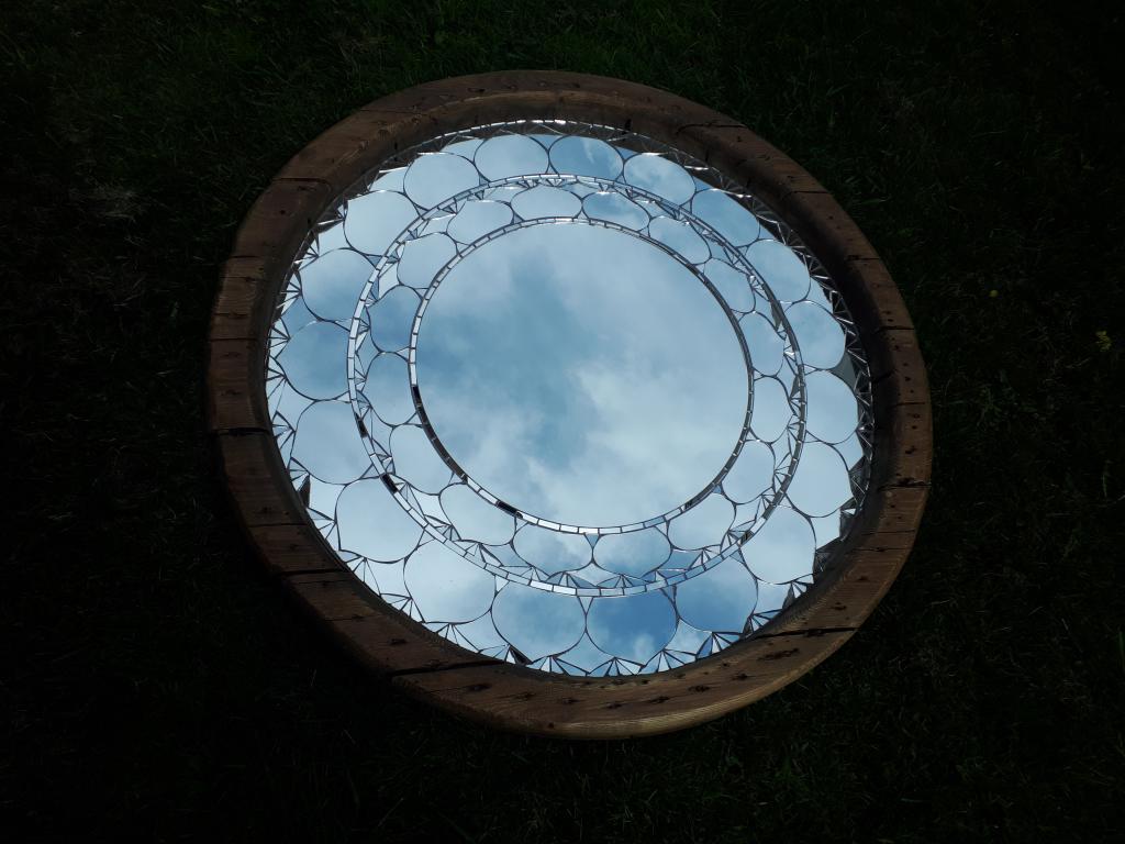 Circular Cotfield Mirrors